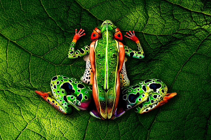 Amazing Body Art Illusions